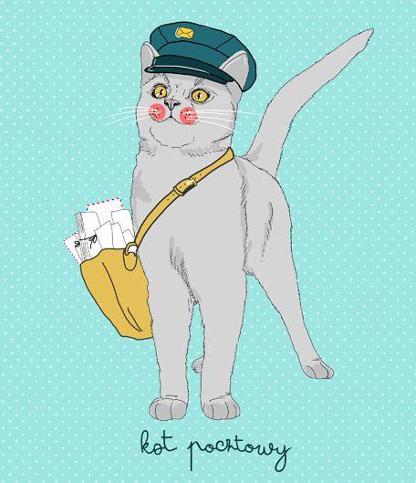 kociwywiad_terakoty_kot_pocztowy