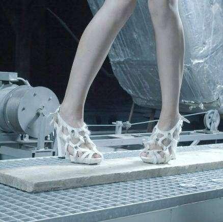 Szykowne buty z sierści