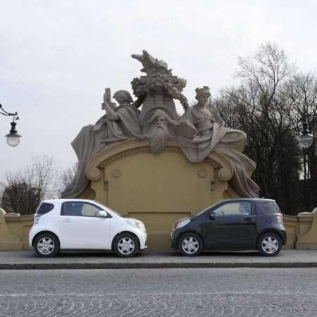 Małe kobiece auto