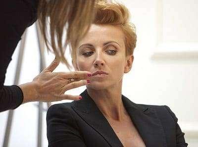 Backstage sesji zdjęciowej Gatta zielinska