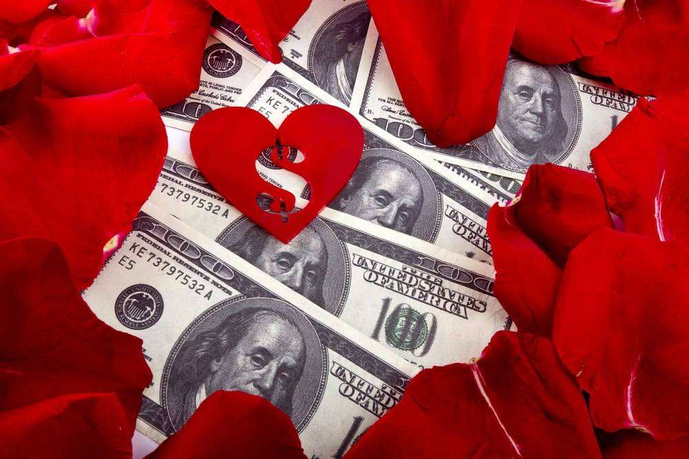 pieniądze a miłość