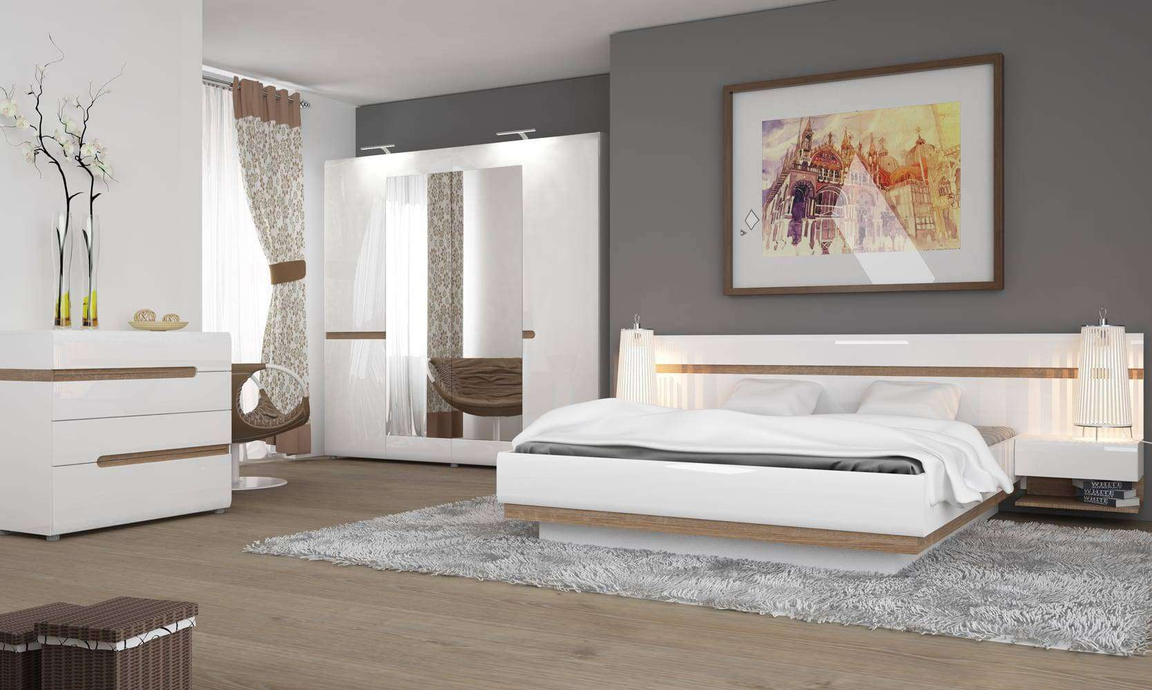 linate sypialnia wizualizacja