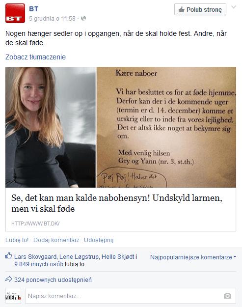 duński poród