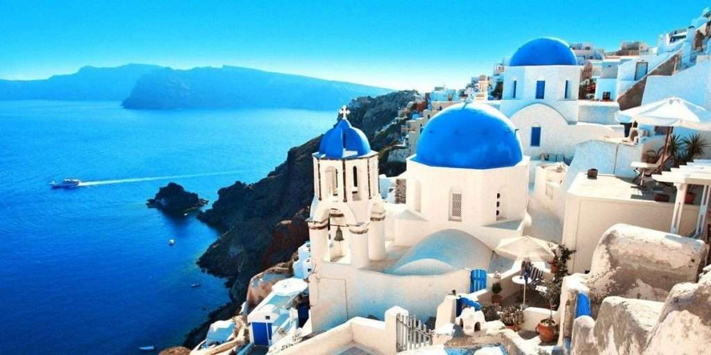 santorini grecja itaka
