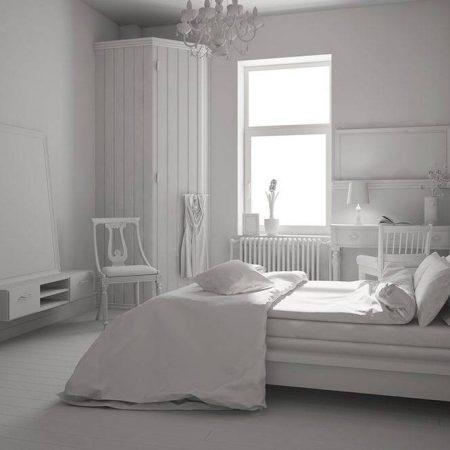 Sypialnia po skandynawsku