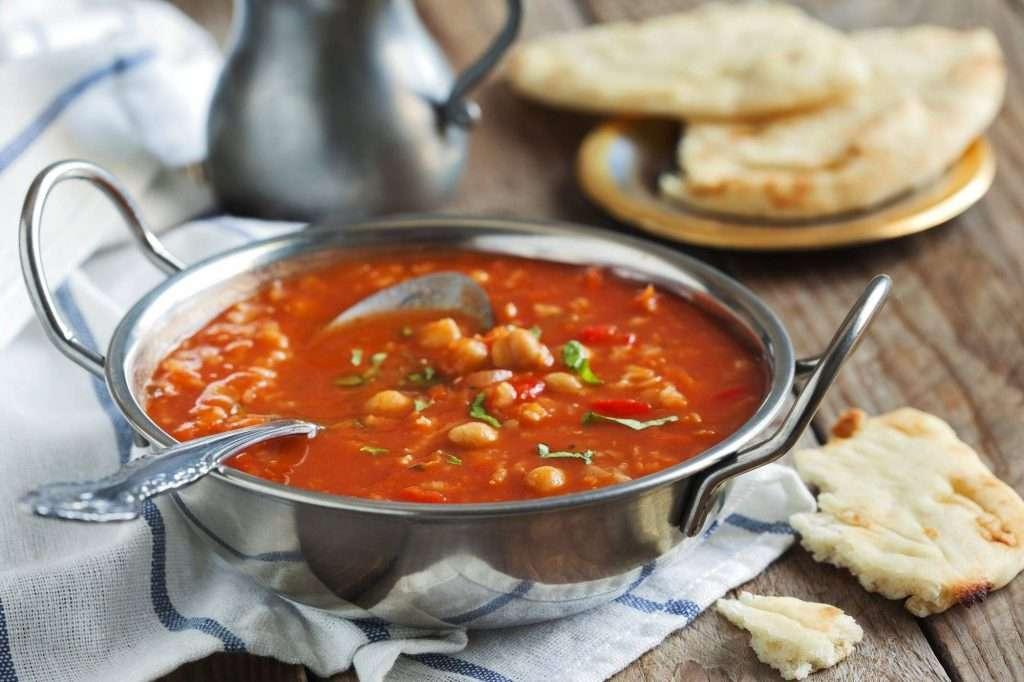 Szybka zupa z cieciorki