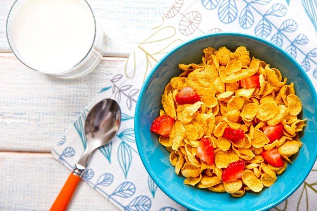 płatki_ziarna na śniadanie