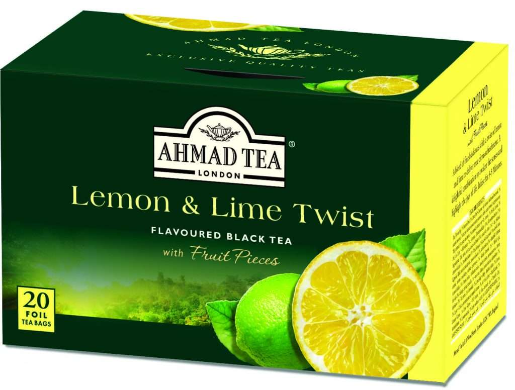 Lemon Lime Twist Ahmad Tea