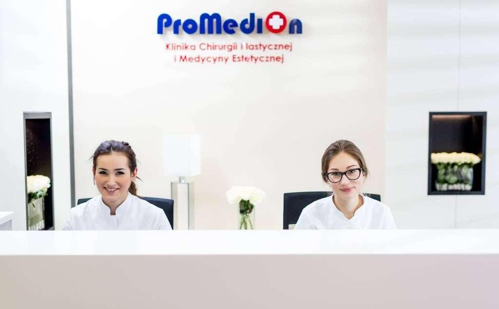 Klinika Promedion_recepcja