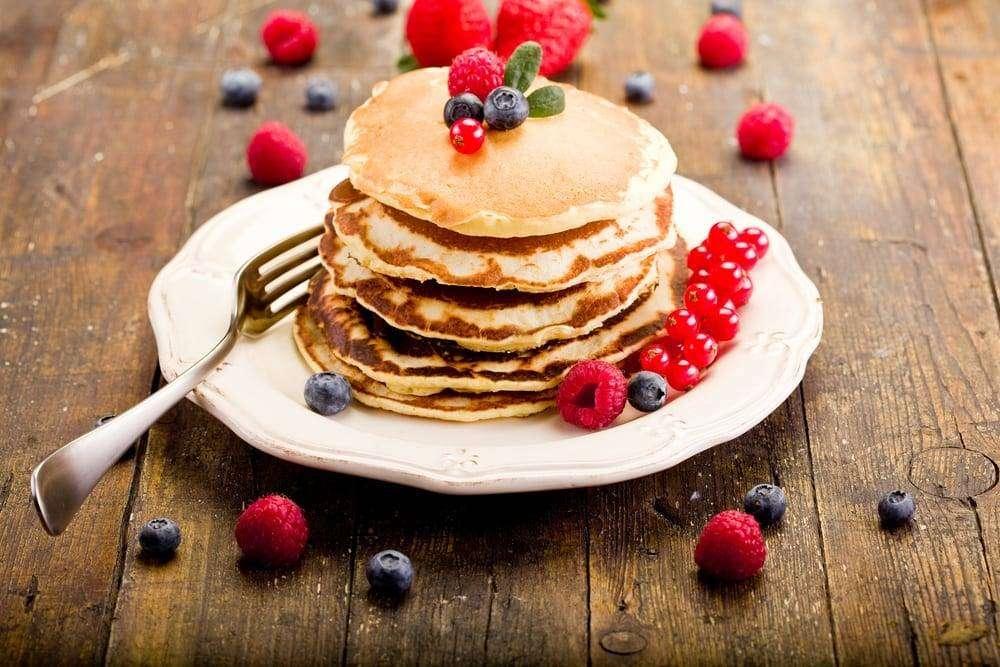 pancake z maślanki