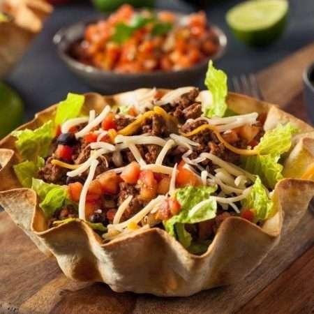 Sałatka w stylu meksykańskim