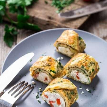 Zakręcony omlet