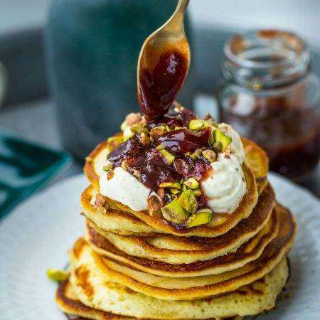 Pancakes zmascarpone