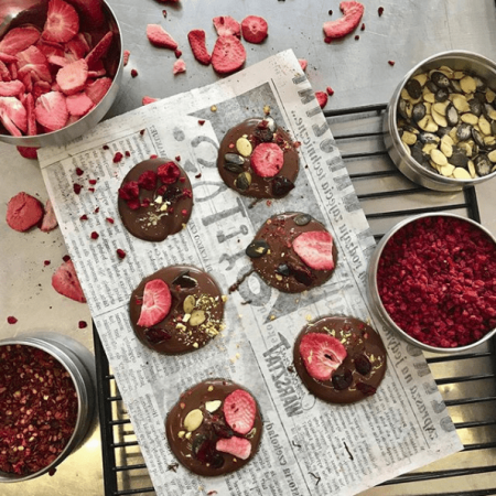 Rzemieślnicze czekolady