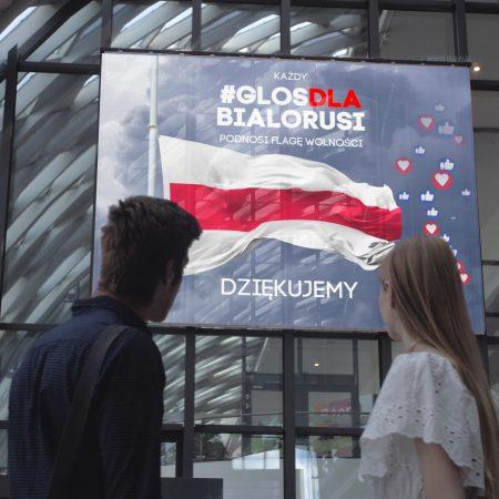 #glosdlaBialorusi – wciągnij cyfrową flagę na maszt!