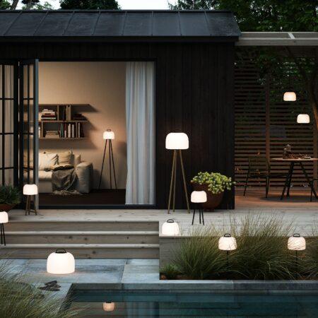 Przenośne lampy do ogrodu i na balkon