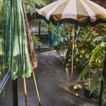 Parasole przeciwsłoneczne w stylu vintage